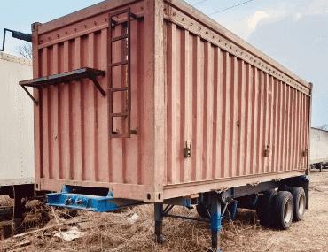 Прицеп-контейнеровоз - выкуп в Красноярске